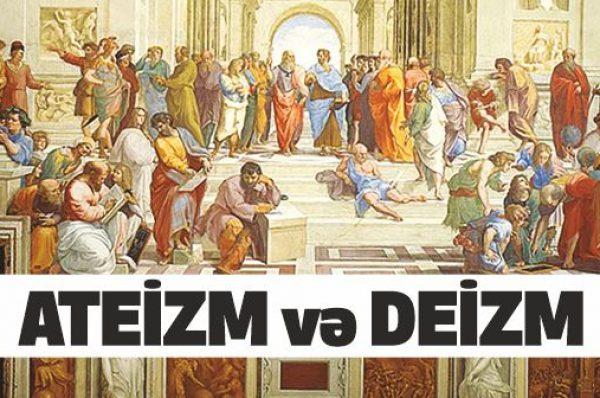 Ateizm və Deizm
