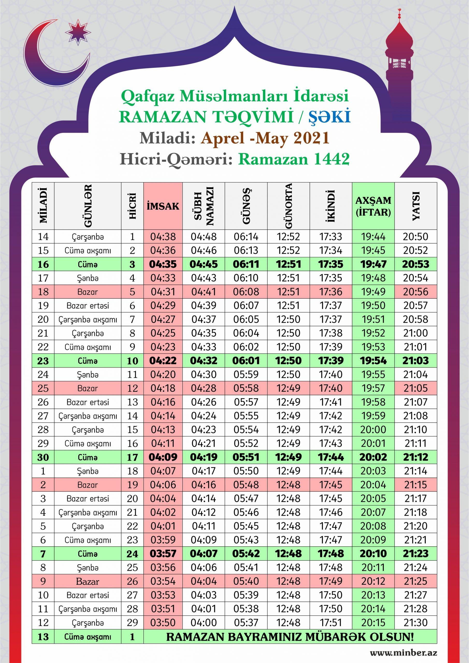Ramazan 2021